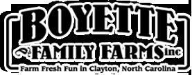 Boyette Family Farms Inc. Logo